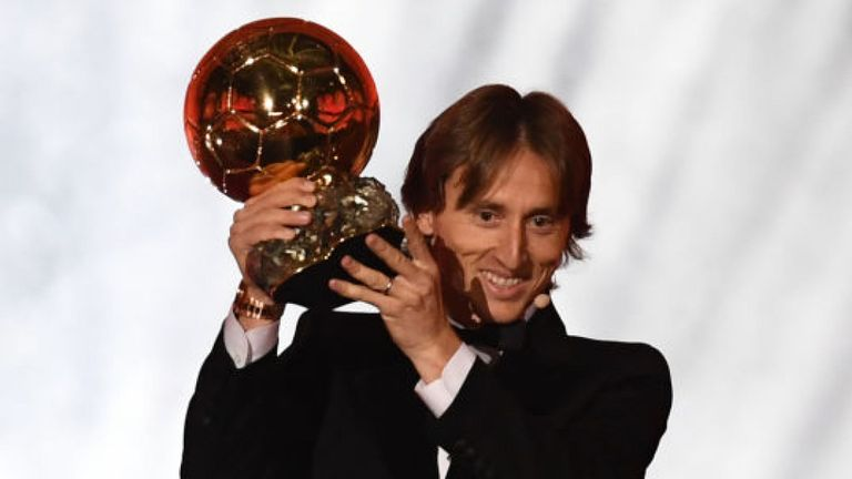 Luka Modric Reveals What Zidane Told Him About Winning The Ballon d'Or In 2016