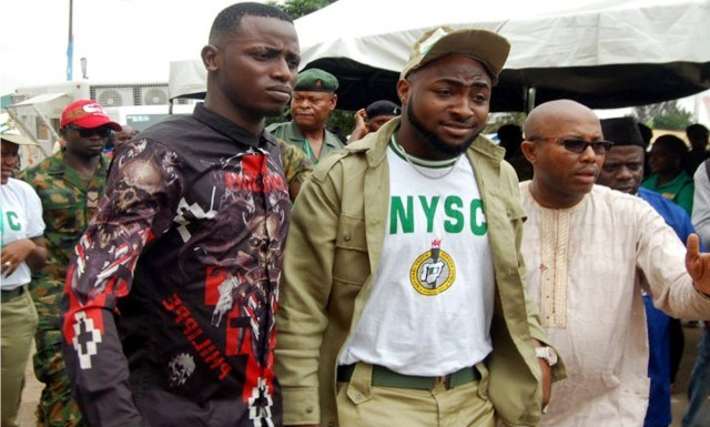 DAVIDO KICKED OUT OF NYSC PROGRAMME?