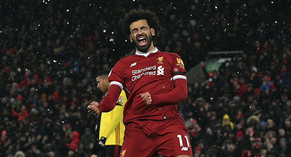 Salah Bangs In Hat-Trick To Send Liverpool To The Top Of Premier League