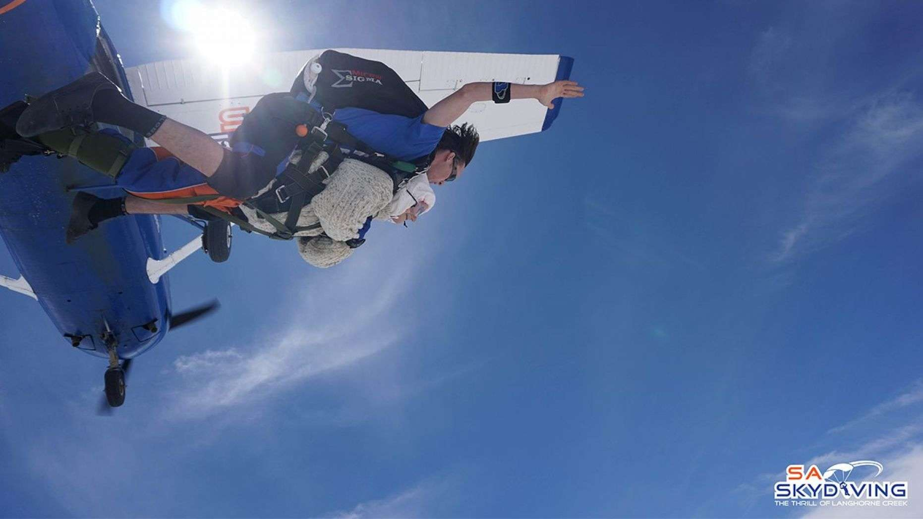 102-Year-Old Woman Becomes World's 'Oldest' Skydiver