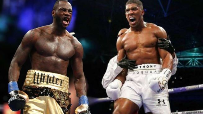 I Want To Fight Wilder In April - Anthony Joshua
