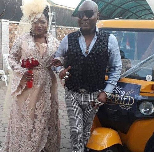 Image result for charly boy and wife remarry