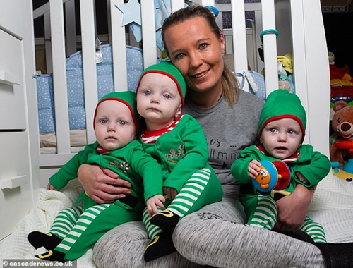 Mother-of-four Who Wanted One More Baby, Surprised After Giving Birth To Triplets
