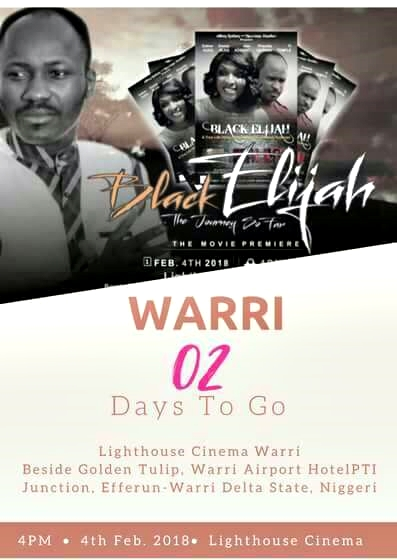 Nollywood: Movie Biopic Of Apostle Suleman Titled 'Black Elijah' Set To Launch (Watch Trailer)