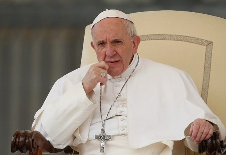Pope Declares Feb. 23 World Fasting, Praying Day