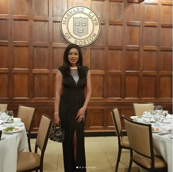 Photos: Nollywood Actress, Chika Ike Graduates From Harvard Business School In US