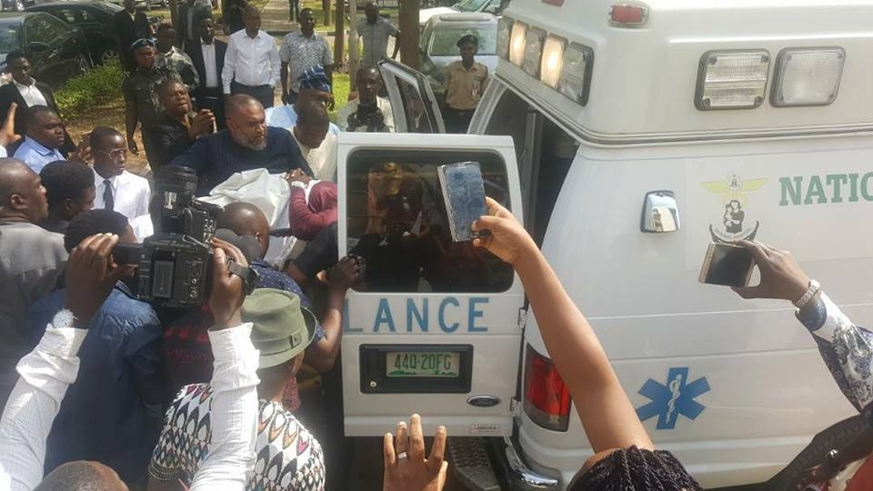 Image result for metuh in ambulance