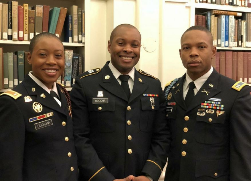 Meet 3 Nigerians From Same Family In The US Army (Photo)