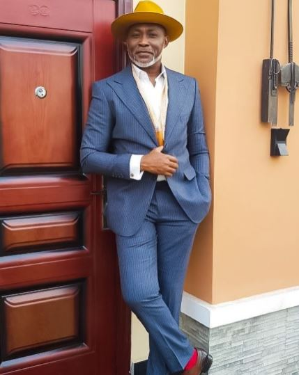"""Epic Clap-back: See What Vetran Actor RMD Told A Fan Who Called Him """"A Demon Gang Leader"""""""