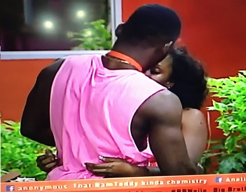 #BBNaija 2018: Tobi Reconciles With Cee C, Gives Her Body Massage