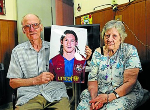 Barcelona Superstar, Lionel Messi In Mourning Mood As Important Family Member Dies (Photo)