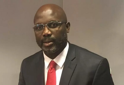 Liberia's NEC Presents Certificate of Return to George Weah