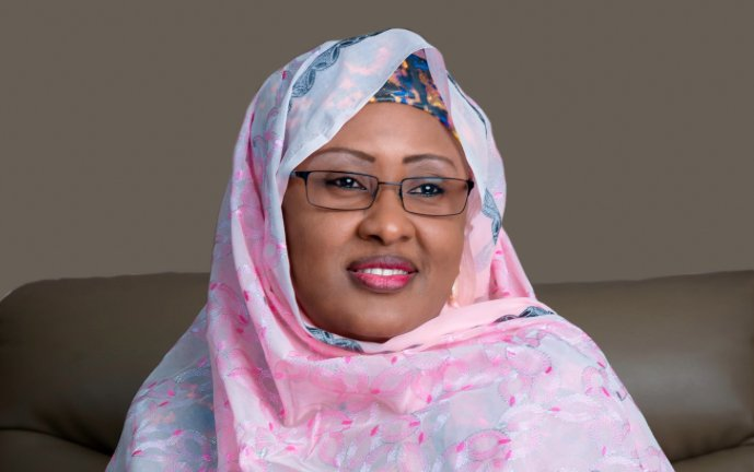Aisha Buhari Updates Nigerians on Her Son`s Health Status After Motorcycle Accident