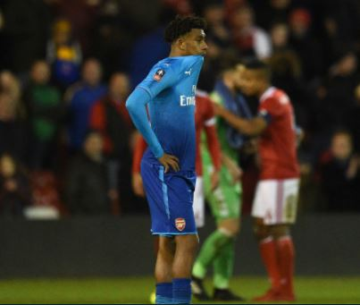 Wenger Gives Serious Warning to Super Eagles Player, Alex Iwobi