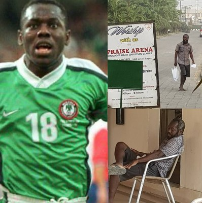 Former Super Eagles Star Suffers Mental Disorder After He was Allegedly Duped N1.2billion By a Pastor