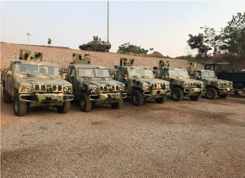 See the New Innoson Vehicles Acquired By The Nigerian Army (Photos)