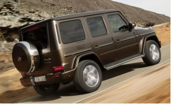 Mercedes-Benz Unveils The All-New 2019 G550 G-Wagon