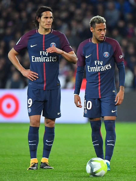 Neymar, Cavani And Others: See French Ligue One Top Scorers This Season