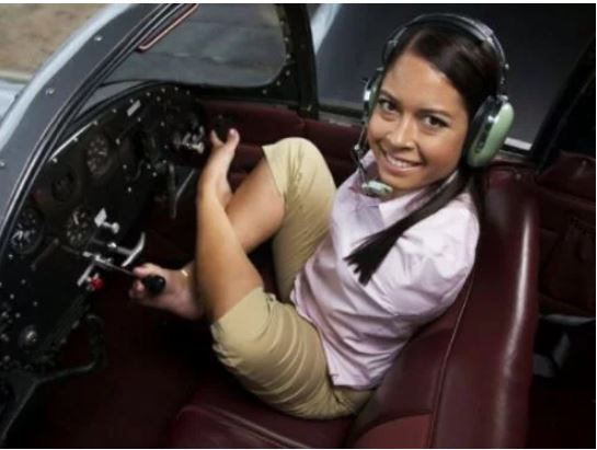 Photos: Meet The Woman With No Arms Who Flies Aeroplane With Her Legs