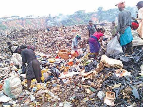 Heartbreaking: Abandoned Baby Dies Inside Port Harcourt Refuse Dump