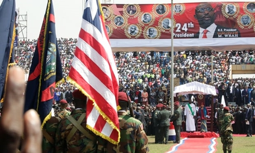 From Footballer To President: George Weah Speech To Liberians At His Inauguration
