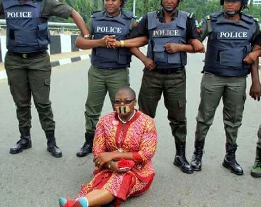 Nigerian Police Reacts To The Arrest Of Oby Ezekwesili, BBOG Members