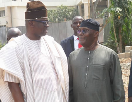 What Atiku And Fayose Said About Obasanjo's Letter After Meeting In Ekiti State