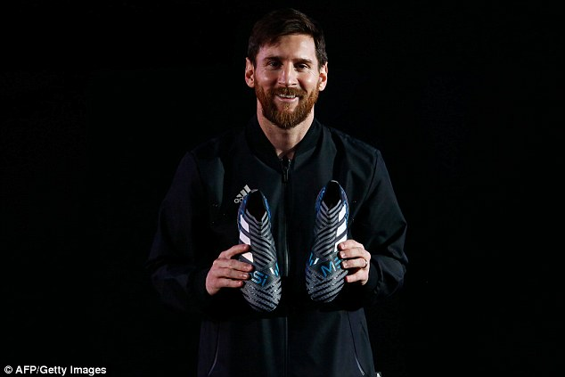 {filename}-The Legendary Lionel Messi Receives His New Adidas Custom Boots Delivered By A Drone [photos]