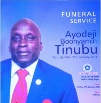 Photos From The Burial Ceremony Of Deji Tinubu