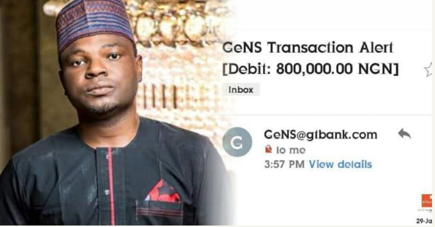 Man Refunds N800k Paid Into His Gtbank Account By Mistake
