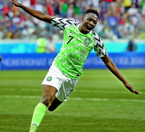 2018 World Cup: CNN Nominates Ahmed Musa's Goal Among First Round's Bests