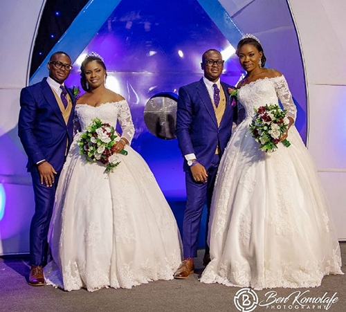 Adorable Wedding Photos Of Twin Brothers Who Married Two Best