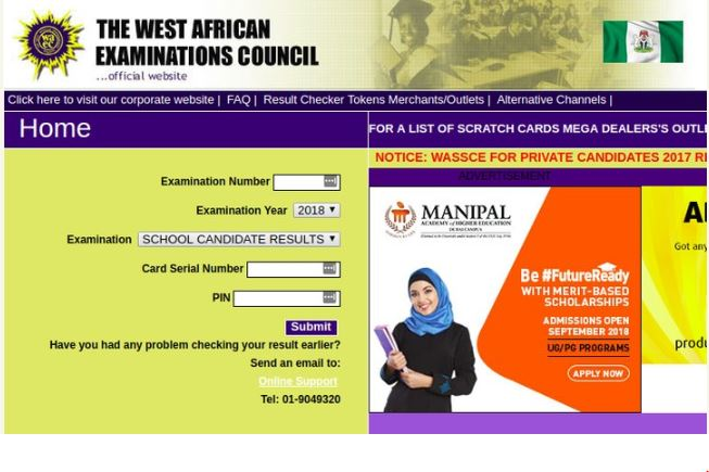 How To Check 2018 WAEC Results