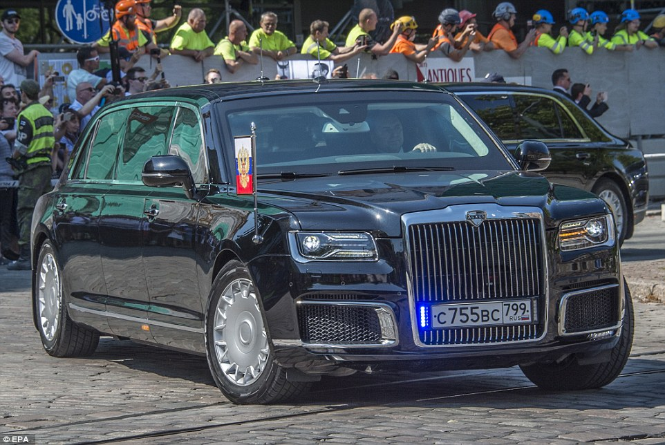 Check Out Russian President's Amazing Bomb Proof and Underwater Limo (Photos)