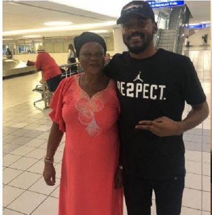 Nigerian Mom Sheds Tears Of Joy After Son Flew Her To America