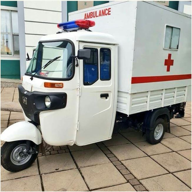 Keke Napep Converted To A Hospital Ambulance (Photos)