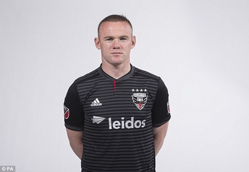 Wayne Rooney Unveiled As DC United Player After Signing For MLS Side (Photos)