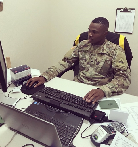 Nigerian Man Promoted To A Sergeant In United States Army (Photos)