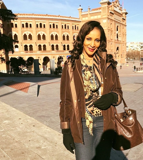 Beautiful Bianca Ojukwu All Smiles As She Visits Bull Fighting Arena In Spain (Photos)