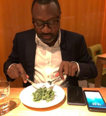 Oil Mogul, Femi Otedola Dumps His Old Nokia Phones For iPhones (Photos)