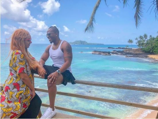 Juliet Ibrahim And IcebergSlim On Romantic Vacation In Sao Tome Island (Photos)