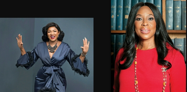American Magazine Names Nollywood Actress Omotola And Mo'Abudu Among 50 Top Women In Showbiz