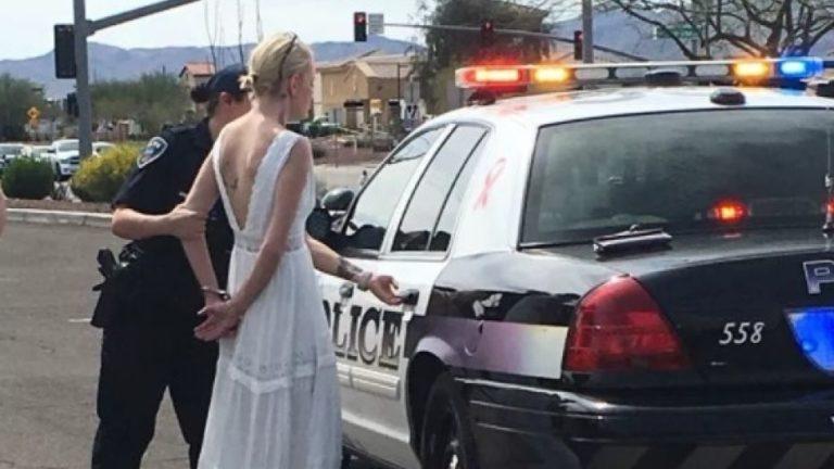 Drama As Police Arrest Bride On Her Wedding Day