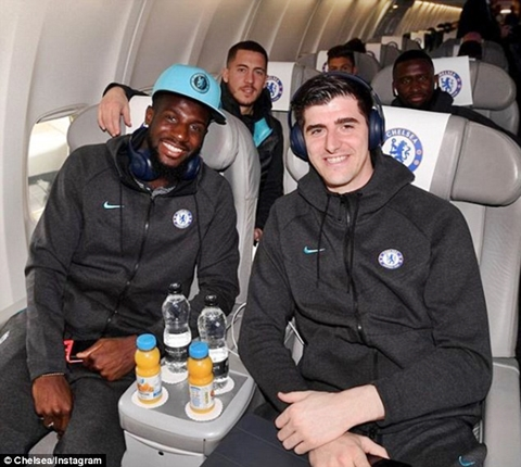 Chelsea Players Head To Spain Ahead Of Epic Showdown With Barcelona (Photos)