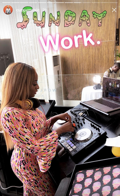 Billionaire Daughter, DJ Cuppy Poses On Her Bulletproof G-Wagon Wearing Jumpsuit (Photos)
