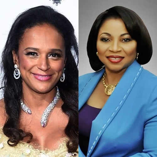 President Dos Santos' Daughter Maintains Lead Over Folorunsho Alakija As Africa's Richest Woman in 2018