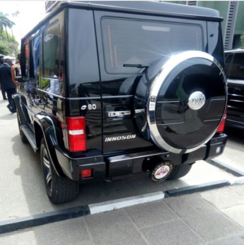 Oluwo Of Iwo's Locally-made SUV Causes Stir In Lagos (Photos)