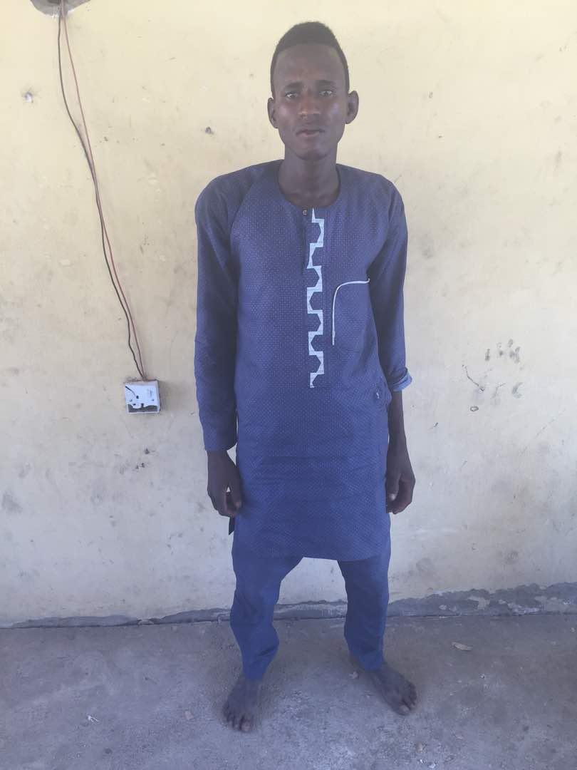 Soldiers Capture Wanted Boko Haram Terrorist Leader Hiding In Borno (Photos)