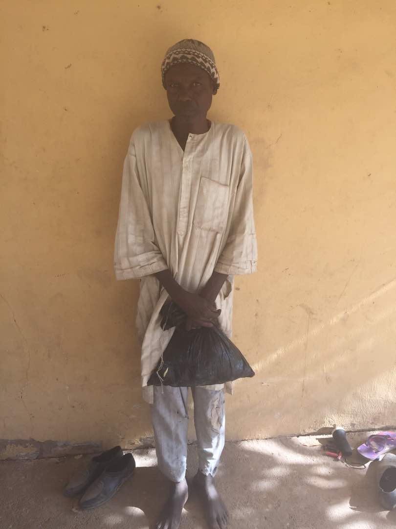 Soldiers Capture Wanted Boko Haram Terrorist Leader Hiding In Borno (Photos)