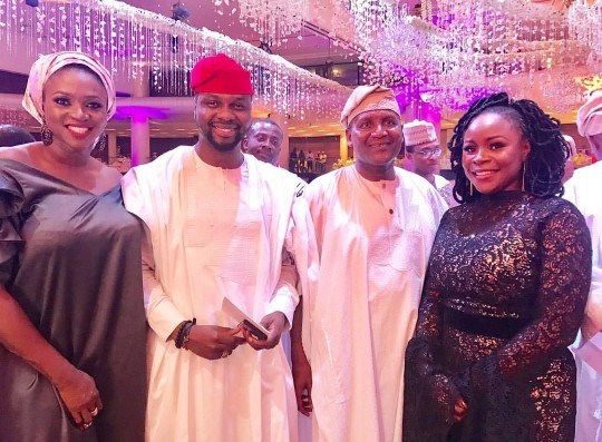 N40M Naira Hair Scandal Continues At The Wedding of Dangote's Daughter